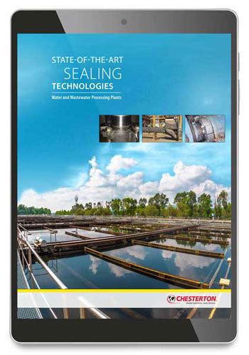 Sealing technologies for water and wastewater plants
